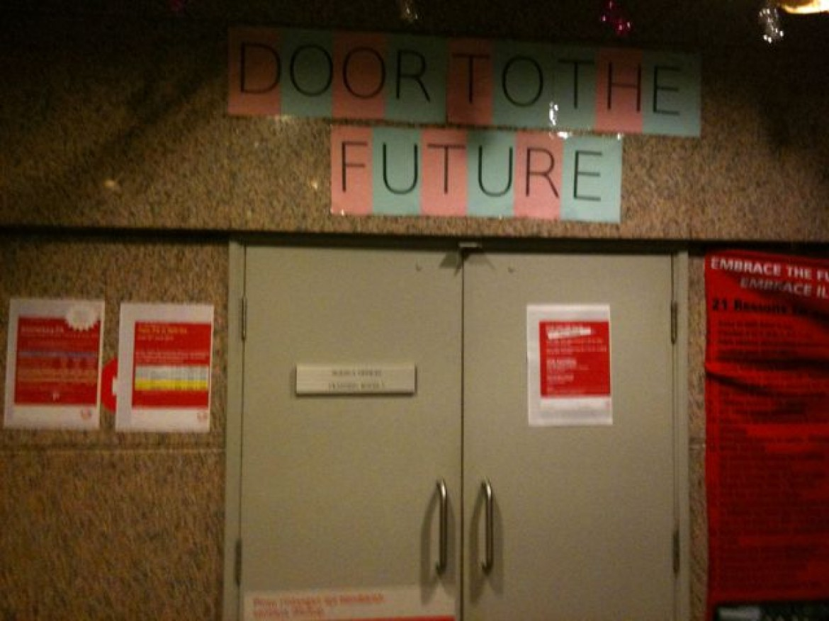 Door To The Future!