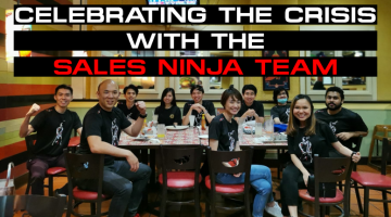 Celebrating The Crisis With The Sales Ninja Team