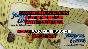 I Wanted A Drink, But Ended Up With Cookies 🤦♂️ How Famous Amos Sold Me